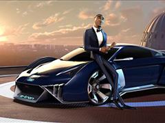 奥迪为好莱坞动画电影打造虚拟概念车
