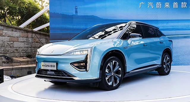 NEDC续航643公里/预售价26万-40万元 广汽蔚来首款车合创HYCAY007正式发布