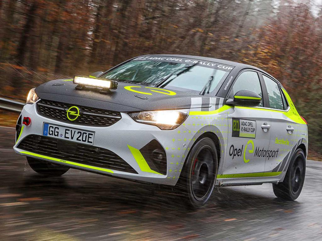 欧宝纯电动拉力赛车Corsa e-Rally开始测试