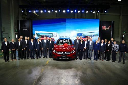 北京奔驰2019年产量突破50万辆