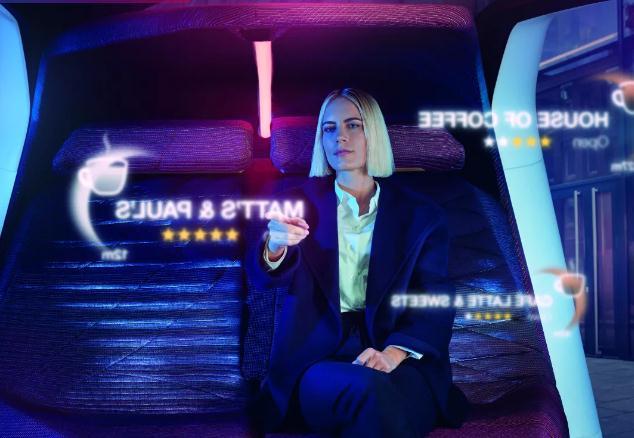 宝马发布自动驾驶人机交互概念座舱