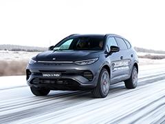 """奔驰设计与比亚迪技术的""""混血儿""""  冰雪试驾腾势X PHEV"""