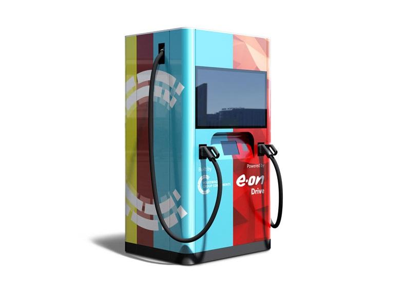 最大充电功率可达150千瓦  大众联手E.On推便捷式充电桩