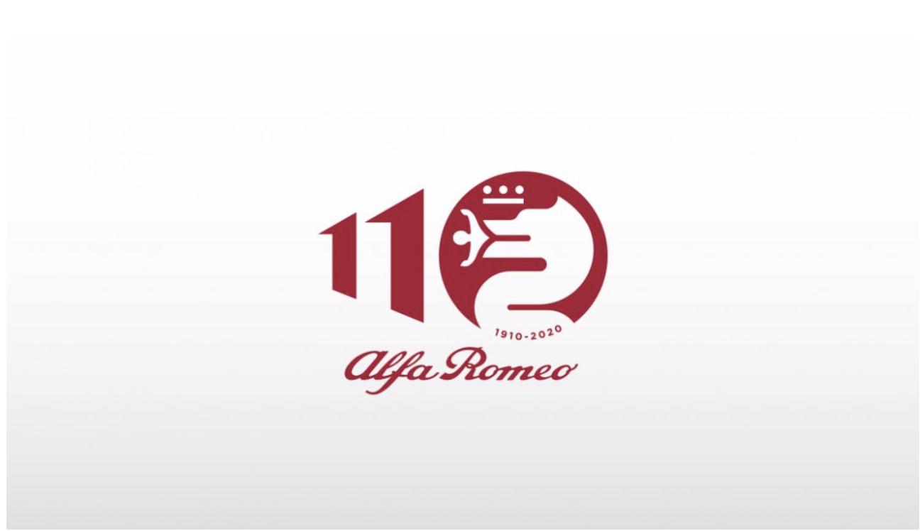 阿尔法·罗密欧发布110周年纪念logo