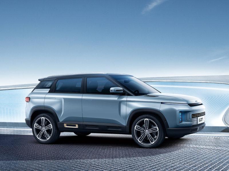 蓝鲸汽车 吉利2020年首款新车线上发布,ICON售价11.58万起