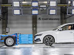 可提供电动车测试  斯柯达总部全新碰撞实验室投入使用
