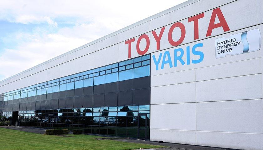 丰田将暂停欧洲多家工厂的生产