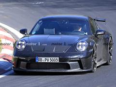 细节更加清晰  全新一代保时捷911 GT3 低伪谍照曝光