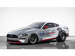 直线加速赛车  福特推出纯电动版Mustang Cobra Jet