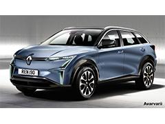 与MORPHOZ概念车相似  雷诺全新电动SUV效果图曝光