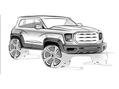 第四季度上市 哈弗全新硬派SUV设计手稿曝光