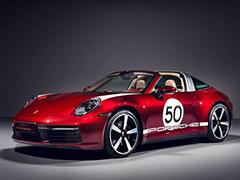 向传统致敬 保时捷911 Targa 4S Heritage Design特别版发布