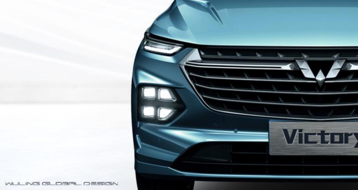 采用分体式大灯 五菱全球银标首款新车渲染图曝光