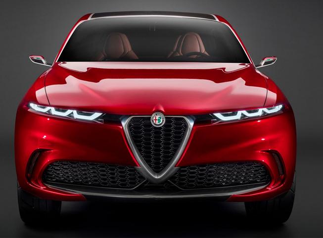 阿尔法·罗密欧旗下全新紧凑型SUV渲染图公开