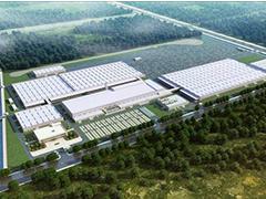 不受疫情影响 光束汽车工厂开始打桩施工
