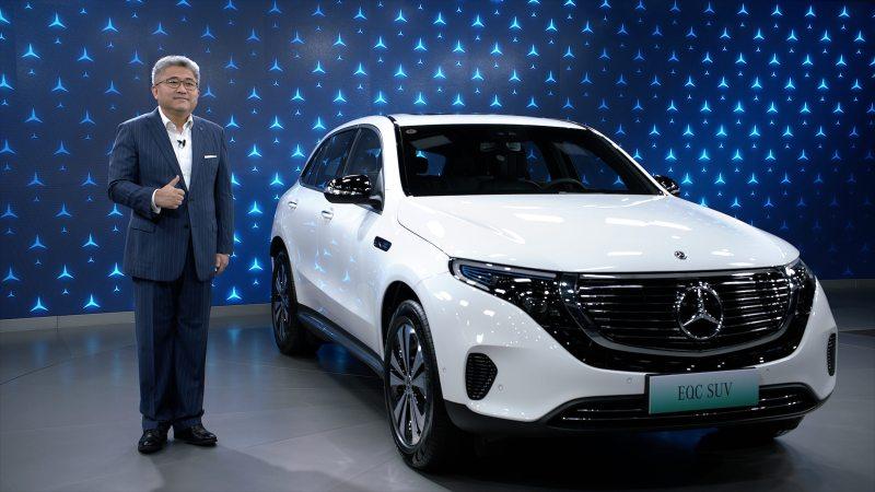 蓝鲸汽车 | 奔驰EQ家族的产品扩容,EQC 350 4MATIC纯电SUV上市