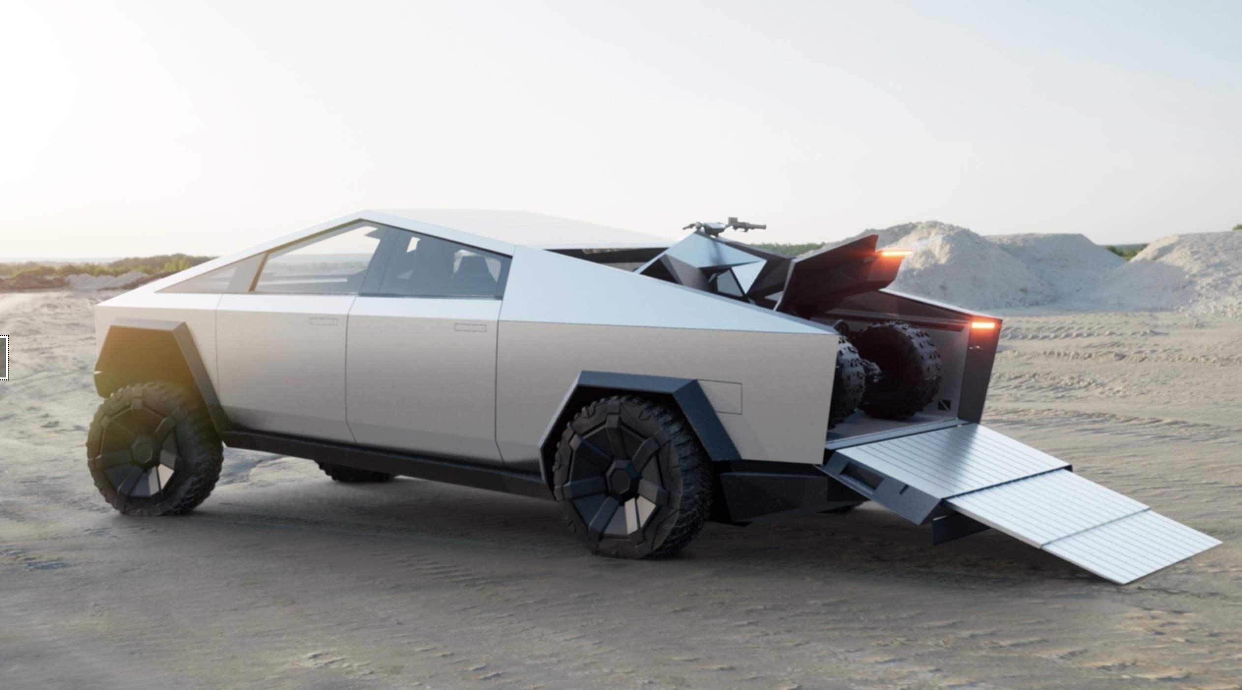 特斯拉Cybertruck竟会成为两栖车?