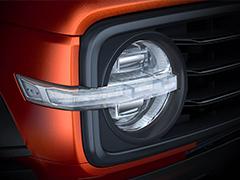 复古圆灯瞩目  WEY旗下硬派SUV更多预告图发布