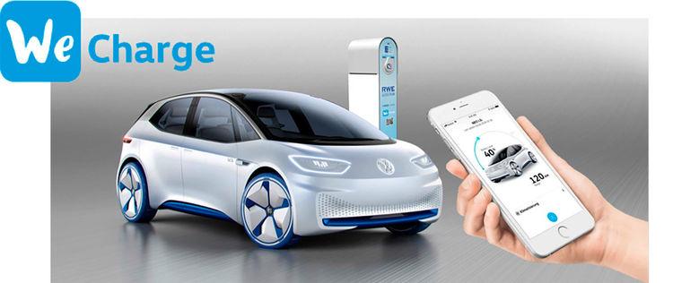 """大众将推充电服务""""We Charge"""" 在欧洲建15万个充电桩"""