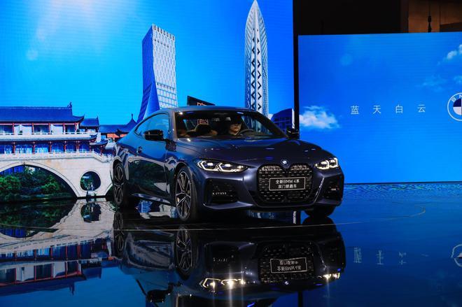 2020成都车展   预售价36.5万-46万元,全新宝马4系双门轿跑车首发