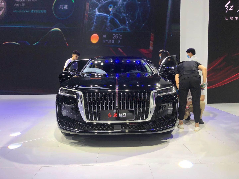 2020成都车展 | 预计8月上市 最美中国车红旗H9亮相成都