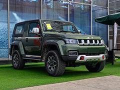 """这才是""""灵魂""""车型 北京BJ40致敬2020版到店实拍"""