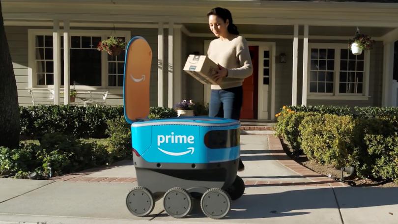 亚马逊正在英国招聘工程师开发自动驾驶送货车
