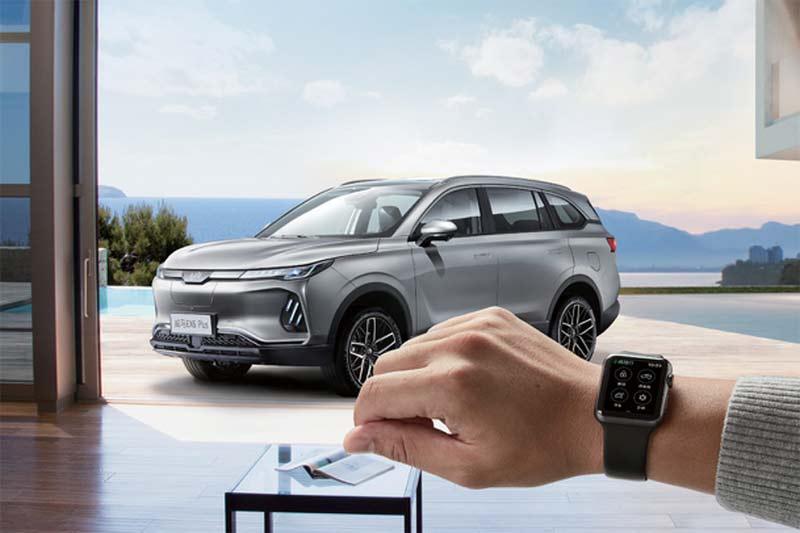 开辟智能汽车个性服务新空间  威马汽车推Apple Watch专属表盘