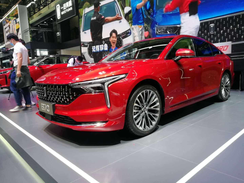 2020北京车展   外观内饰均升级 第三代奔腾B70首发亮相