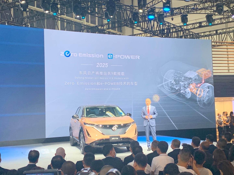 日产汽车吉奥瓦尼·阿罗瓦:Ariya将引领日产汽车电动技术进入新阶段