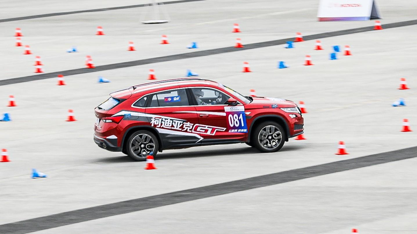 柯迪亚克GT于中国量产车性能大赛成都站夺冠