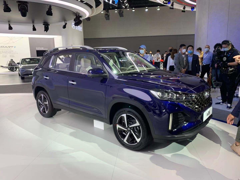 2020广州车展   采用最新设计语言 北京现代全新ix35亮相