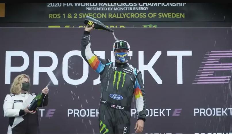 零百加速1.8秒触接触,福特首款纯电拉力赛车Fiesta ERX2首战夺冠