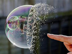 闲侃 | 美丽的泡沫 虽然一刹花火?