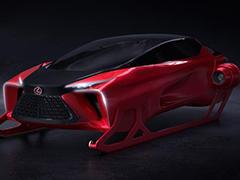 圣诞老人座驾?雷克萨斯发布HX概念车