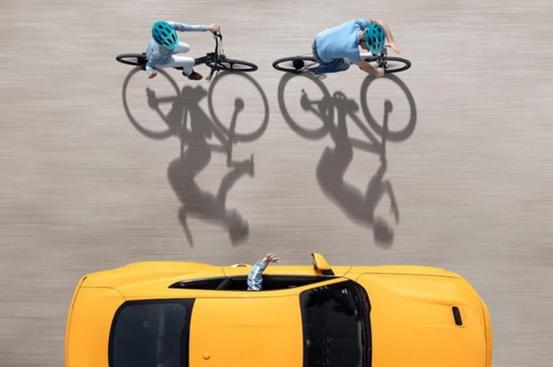 """福特发布""""自行车到车辆""""安全技术,让汽车与自行车实现""""交谈"""""""