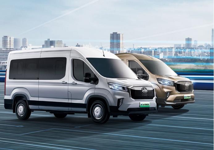 全系售价21.9万起  上汽大通MAXUS EV90纯电轻客新增5款车型