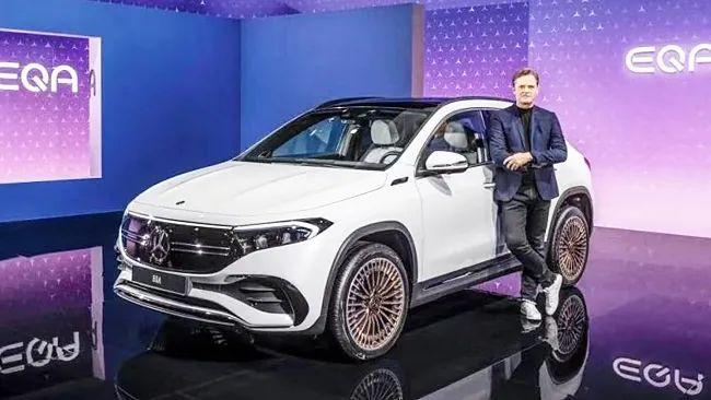 奔驰EQA纯电SUV正式发布,年内国产