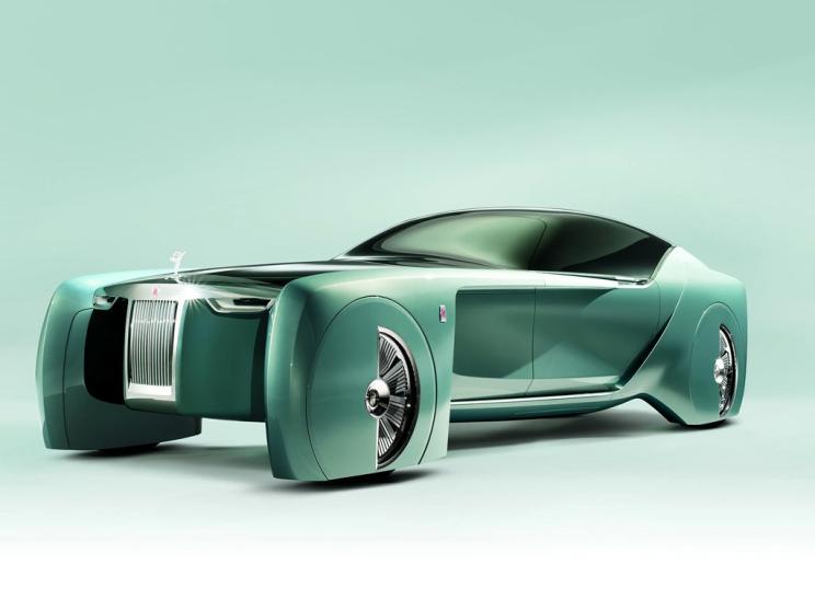 """或基于幻影平台打造,劳斯莱斯""""静谧之影""""电动车2030年前推出"""